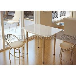 Кухонный стол Белый глянец