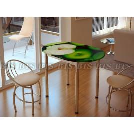 Кухонный стол Зеленое яблоко