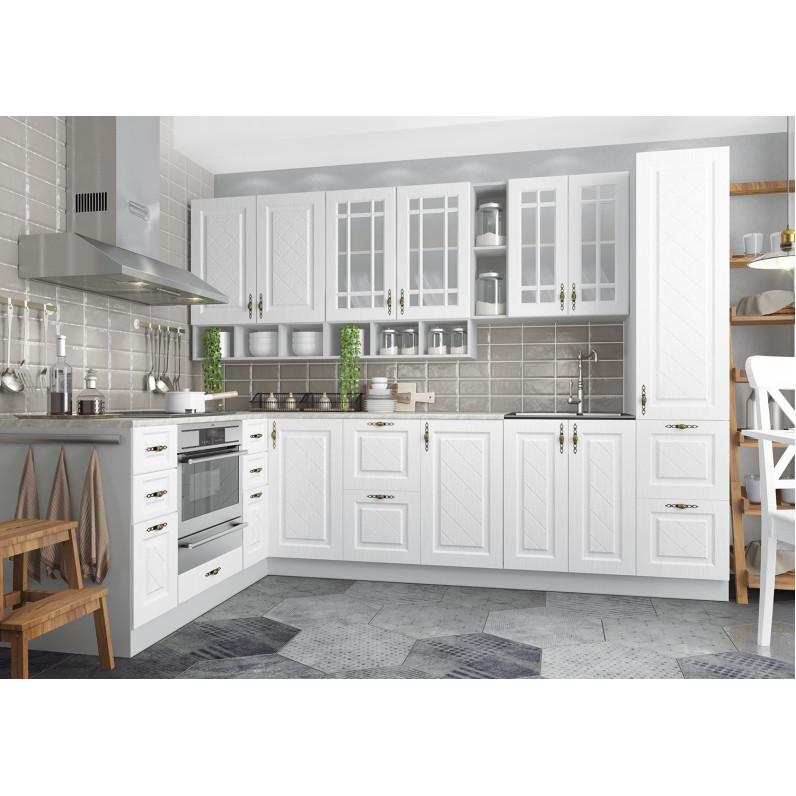Кухня Гранд белый