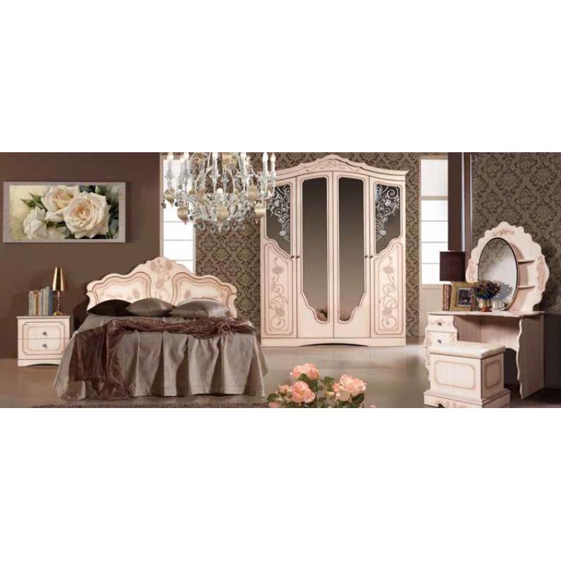 Спальня Мелани 2 дуб молочный